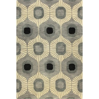 Britanny Tufted Wool Area Rug (4' x 6')