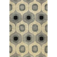 Britanny Tufted Wool Area Rug (4' x 6') - 4' x 6'