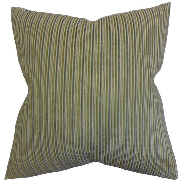 Elke Stripes Euro Sham Green