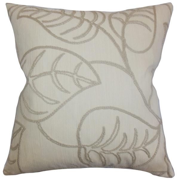 Fabrizia Floral Euro Sham Linen