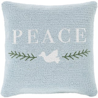 Decorative Thaxted 18 in. Down or Polly Filled Holiday Throw Pillow