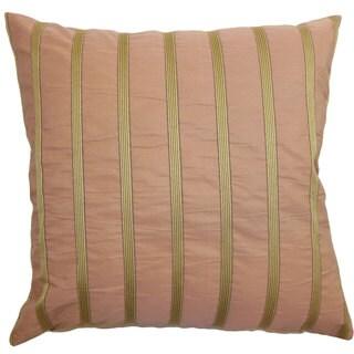 Darja Stripes Euro Sham Pink