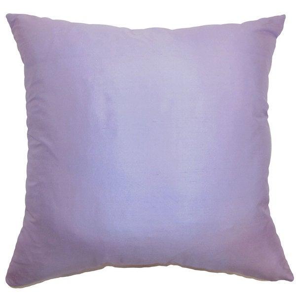 Desdemona Solid Euro Sham Lavender