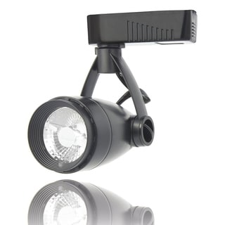 Lithonia Lighting LTH6000 MR16 DBL M24 Black Aluminum Front-loading 1-circuit Mr16-compatible LED Track Head