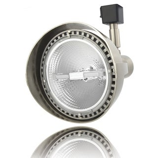 Lithonia Lighting LTH3000 PAR38 BN M12 Brushed Nickel Aluminum Front-loading 1-2 Circuit PAR38-Compatible LED Track Head