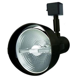 Lithonia Lighting Black Aluminum LED Front-loading Track Head