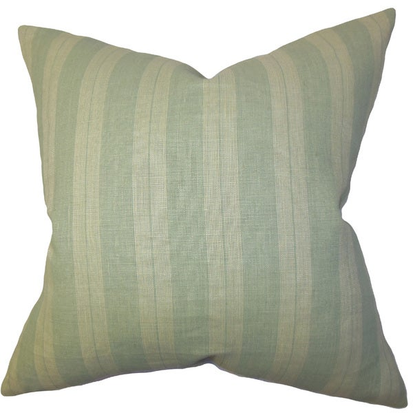 Finlay Stripes Euro Sham Green