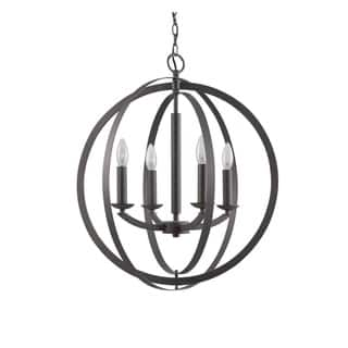 Woodbridge Lighting 14420 Lola Steel 4-light Sphere Pendant Chandelier|https://ak1.ostkcdn.com/images/products/12884611/P19643678.jpg?impolicy=medium