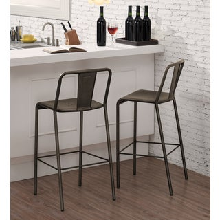 Metallo Piazza Bar Stool (Set of 2)