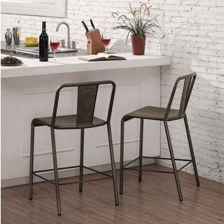 Metallo Piazza Counter Stool (Set of 2)
