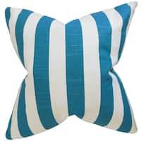 Ilaam Stripes Euro Sham Blue