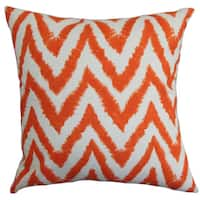 Kingspear Zigzag Euro Sham Orange
