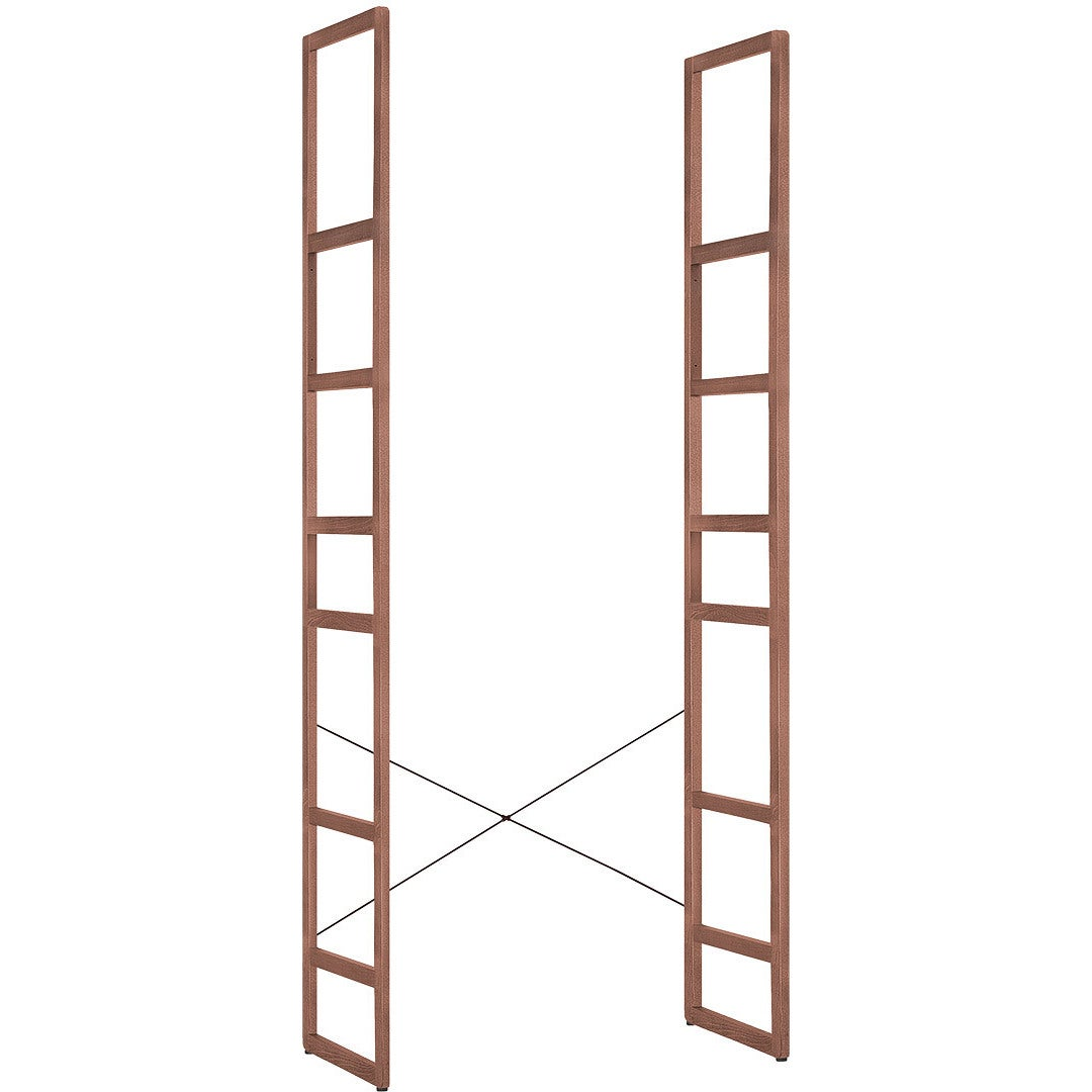 Voelkel Mio Collection Brown Wood Ladder-style Support Fr...