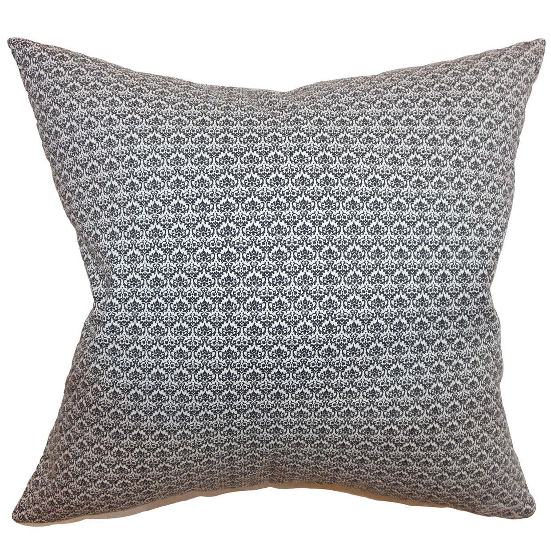 The Pillow Collection Zanzibar Geometric Euro Sham Black ...