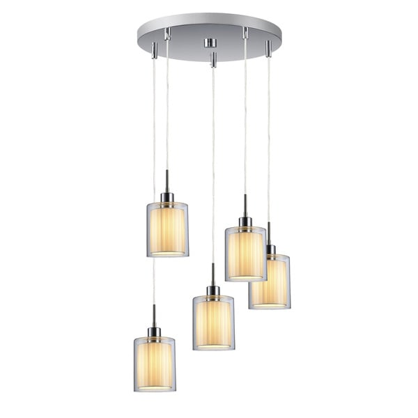 Woodbridge Lighting Alaina 5 Light Cluster Pendant Light