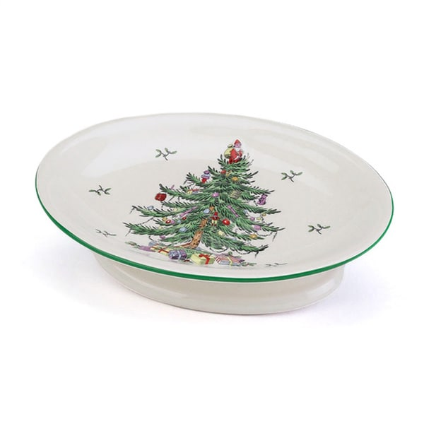 Shop Spode Christmas Tree Holiday Themed Soap Dish Free Shipping On Orders Over 45