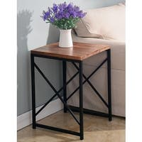 Pallet Industrial Wood Accent Table
