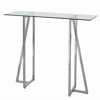 Guise Stainless Steel Console Table