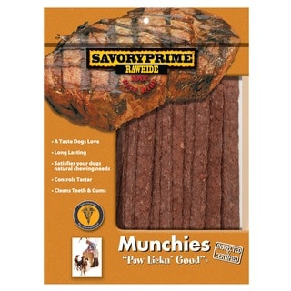 """Savory Prime 00062 5"""" Dog Beef Strips 36 Count"""