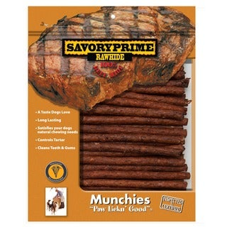 "Savory Prime 00009 5"" Beef Munchie Sticks 100 Count"