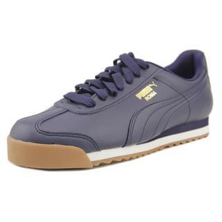 Puma Men's 'Roma Basic' Blue Synthetic Athletic Shoes