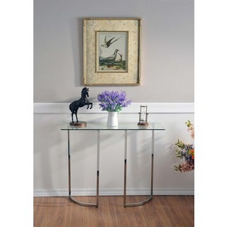 Minor Modern Curved Leg Console Table