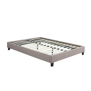 Priage Essential Upholstered Queen Size Platform Bed Frame