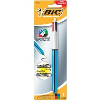 Bic MMMTP11-AST 1 MM 4 Color Metallic Ballpoint Pen
