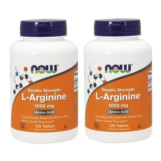 Now Foods L-Arginine 1000 mg (120 Tablets)