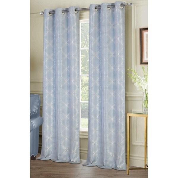 Shop Ellen Tracy Melbourne Grommet Curtain Panel Pair