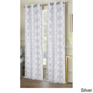 Ellen Tracy Melbourne Grommet Curtain Panel Pair