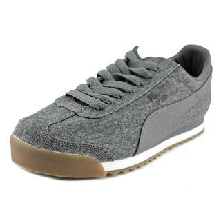 Puma Men's 'Roma Denim Gum' Basic Textile Athletic Shoes