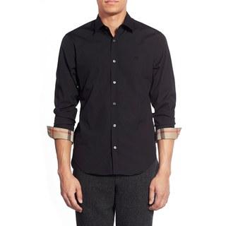 Burberry Cambridge Black Casual Shirt (Size M)|https://ak1.ostkcdn.com/images/products/12886015/P19644978.jpg?_ostk_perf_=percv&impolicy=medium