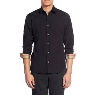 Burberry Cambridge Black Casual Shirt (Size M)|https://ak1.ostkcdn.com/images/products/12886015/P19644978.jpg?impolicy=medium