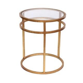 Teton Home Minimalist Gold Coffee Table - Af-118