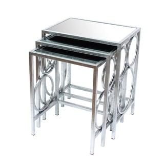 Teton Home 3 Piece Nesting Table Set - Af-107
