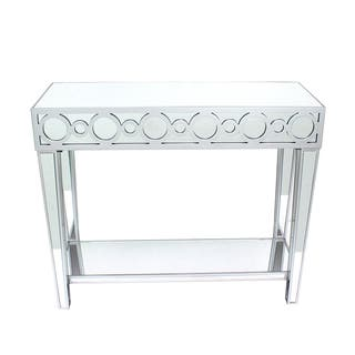 Teton Home Mirrored Circles Console Table - Af-106 https://ak1.ostkcdn.com/images/products/12886071/P19645022.jpg?impolicy=medium