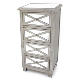 Teton Home 4 Drawers Wood Cabinet