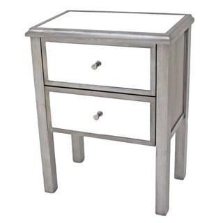 Teton Home2 Drawers Wood Cabinet