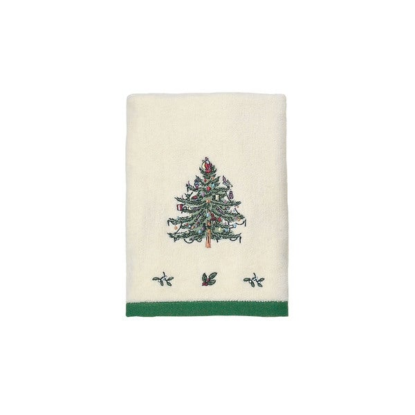 Spode Christmas Tree Holiday Hand Towel