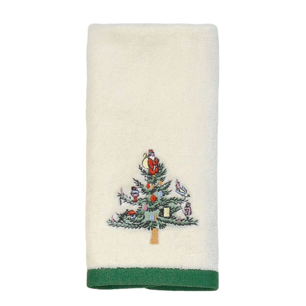 Spode Christmas Tree Holiday Fingertip Towel Free Shipping On Orders Over 45 Overstock