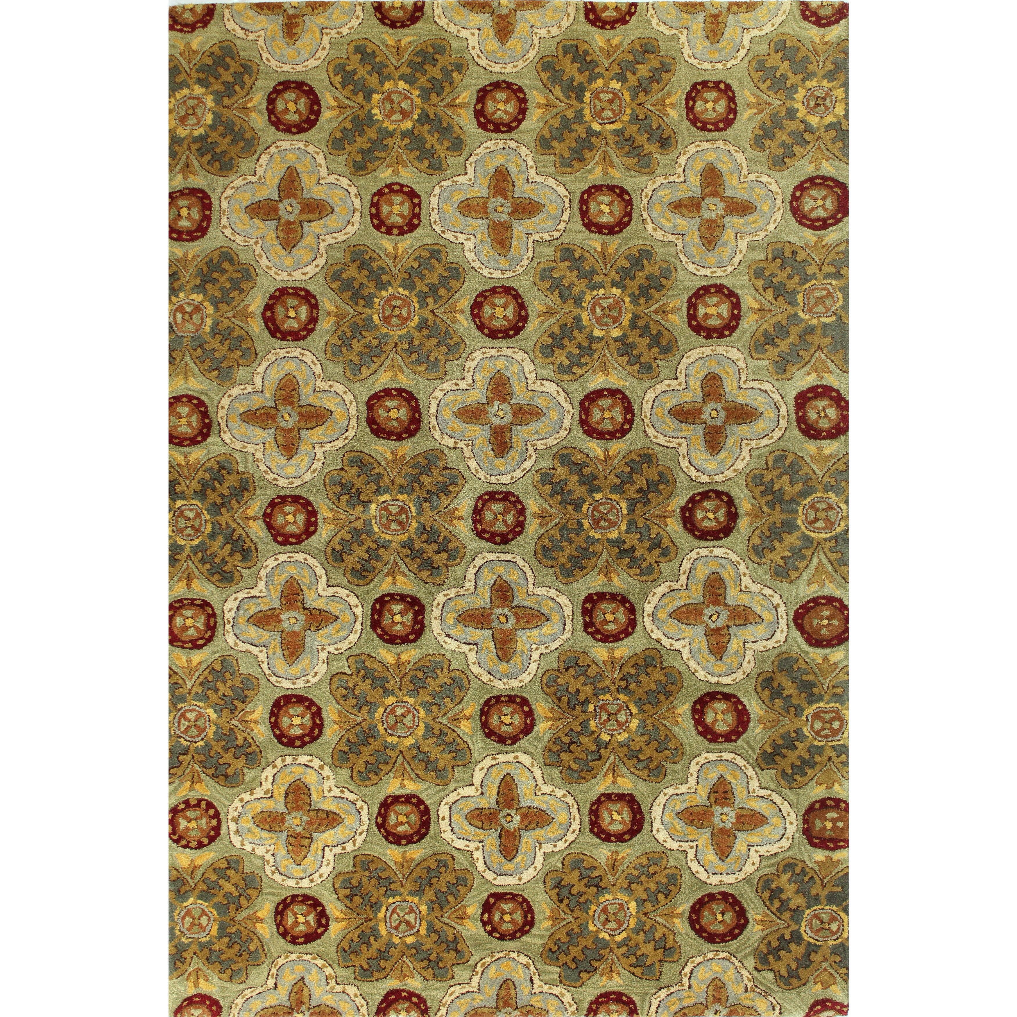 wilshire collection rugs  rugs  compare prices at nextag - bashian caroline tufted wool area rug (' x ')