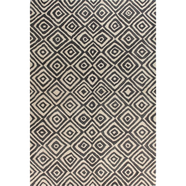Madelyn Wool Tufted Area Rug (4' x 6')