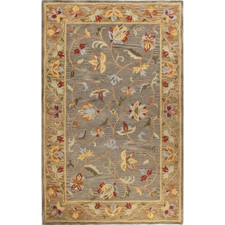 Carol Tufted Wool Area Rug - 5' x 7'6""