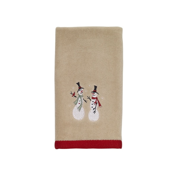 Holiday Fingertip Towel