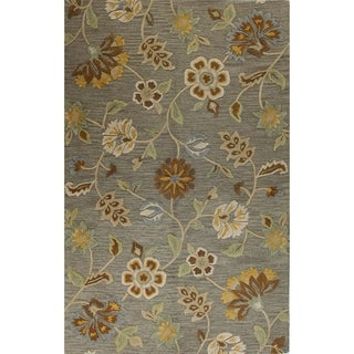 "Leslie Wool Tufted Area Rug (7'6 x 9'6) - 7'6"" x 9'6"""