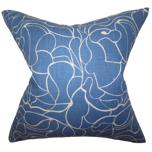 Eames Floral Euro Sham Blue