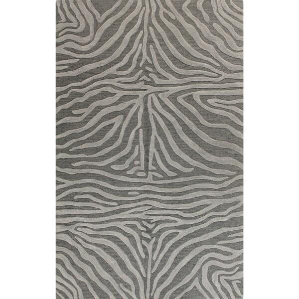 "Hand-tufted Bashian Marissa Striped Wool Area Rug (7'6"" x 9'6"")"