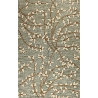"Mia Multicolor Tufted Wool Area Rug (7'6 x 9'6) - 7'6"" x 9'6"""