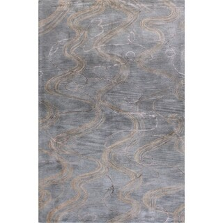 Jared Wool Cotton Canvas-backed Hand-tufted Area Rug (9' X 12')